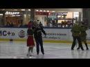 Военная тема. Ансамбль ветеранов танцев на льду Москвичи 10 мая 2016
