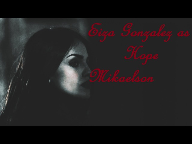 Hope Mikaelson AU l Paint It Black (Eiza Gonzalez as Hope Mikaelson)