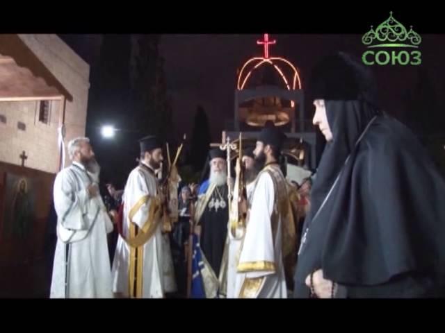 На святой горе Фавор торжественно отметили праздник Преображения Господня