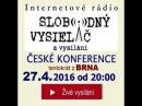 Česká Konference 27.04.2016 -12- Živě z Brna :YT