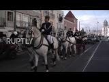 Португалия Похороны бывшего Президент Соарес отмечает окончательное прощание.