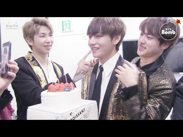 [BANGTAN BOMB] Happy Birthday to V @ KBS 가요대축제 2016 - BTS (방탄소년단)