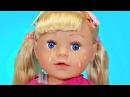 Новая Кукла Беби Бон 2016 Сестренка Барбоскины Распаковка и Обзор видео игрушки и ...