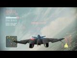 Ace Combat Infinity XFA-33 Alect 17 lv., LAAM 5lv., Paris