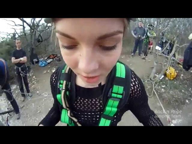 Адреналиновый прыжок со скалы! ДЕВУШКА СЛАВИКА НЕЗАМЕНИМОГО