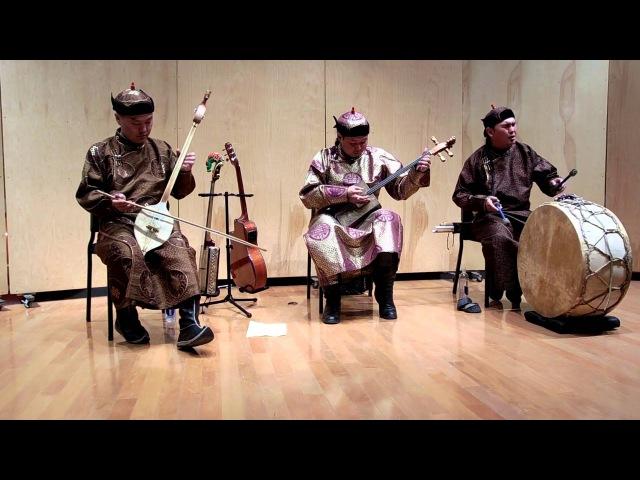 The Alash Ensemble - Tuvan throat singing - Алаш