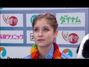 Julia LIPNITSKAIA RUS Short Program Rostelecom Cup 2016 HD