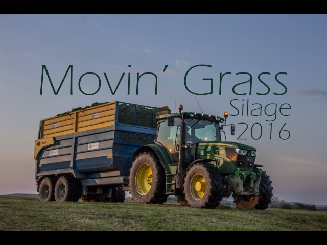 Movin' Grass! - Silage 2016 - Porter Contracts - Claas Jaguar 970 - 4K