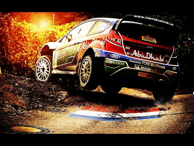 WRC ADAC Rallye Deutschland 2016 Highlights CRASH Action [linkin park soundtrack]