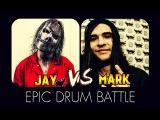 Drum Battle: Jay Weinberg VS Mark Mironov