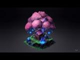 ELF TREE in ISOMETRIC