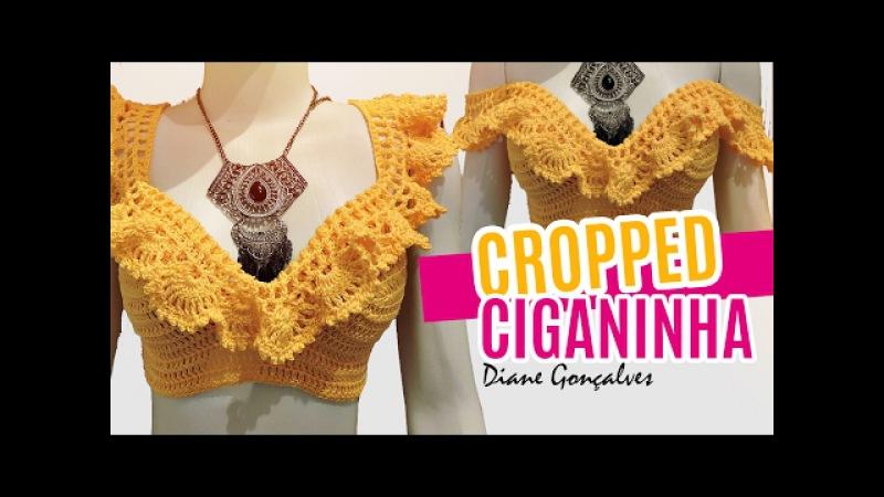 CROPPED CIGANINHA P,M,G / DIANE GONÇALVES