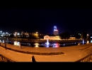 Екатеринбург, поющий фонтан на плотинке.