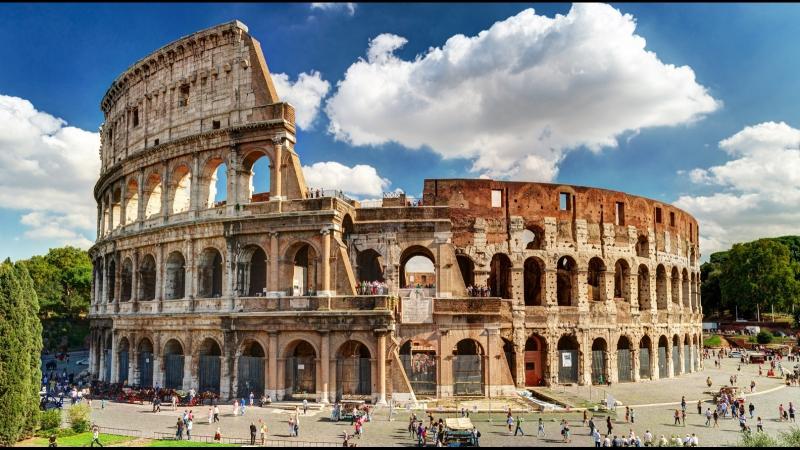 Блеск и слава Древнего Рима. 1 серия Колизей - политическая арена императоров