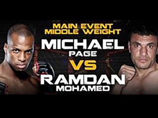 Michael Page vs Ramadan Mohamed | Майкл Пейдж - Рамадан Мохамед