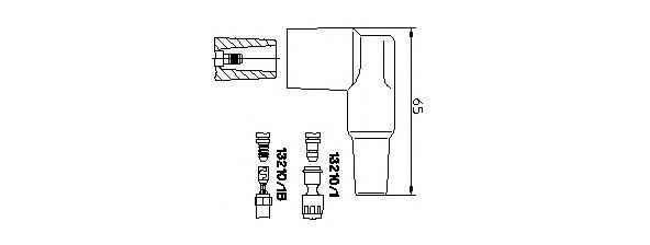 Распределитель зажигания для AUDI V8 (44_, 4C_)