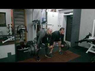 Barbell Deadlift Serg and Andrey 260 kg