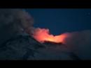 Извержение итальянского вулкана Этна