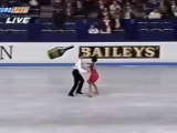 1995 European Championships FD - 9. Claire Wilemin  -  Andrew Place GBR