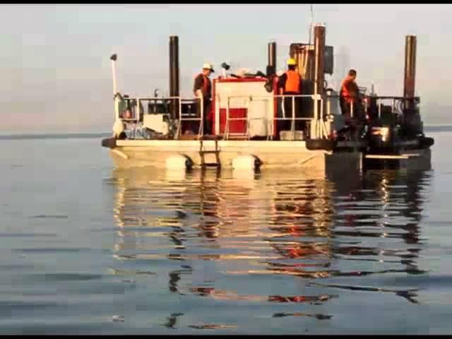 Самоподъемная плавучая буровая установка (СПБУ)