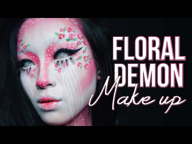 Floral Demon Recreating Kimberly Margarita's Work | Marcella Febrianne