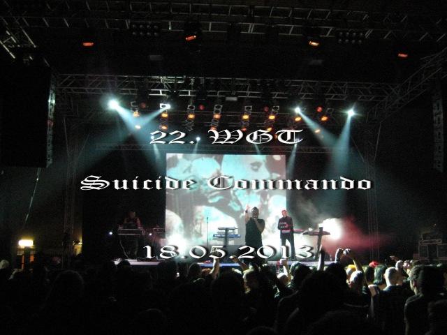 22. Wave Gotik Treffen ~ Suicide Commando ~ 18.05.2013 ~ 22. WGT AGRA