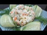 Học cách làm Salad Nga ẩm thực hướng dẫn Món ăn Đặc sản Ukraine Salad Oliver hay Stolichnyi