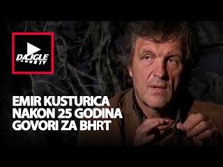 Emir Kusturica prvi put nakon 25 godina govori za BHRT - 7.11.2015