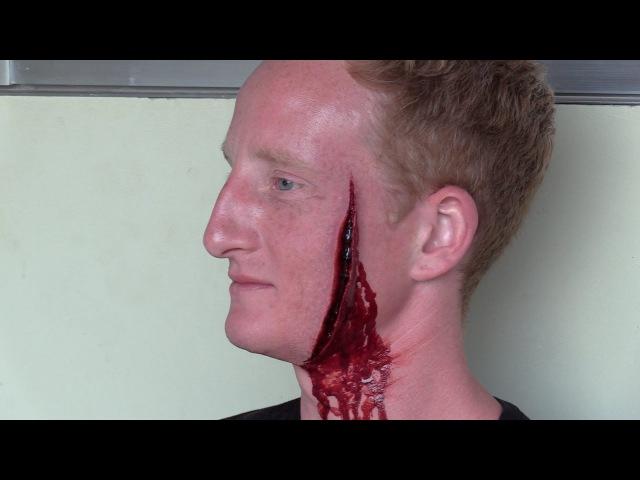 Пранк, после раны на пол лица идем в аптеку