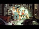 Super Simpsons Couch Gag 2014 from great french Animation Artist Sylvain Chomet
