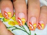 Oranges &amp Lemons Nail Art