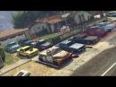 GTA 5 online - Cinematic Lowrider Car meet, hydraulic battles, Cruise and More (Rockstar Editor)
