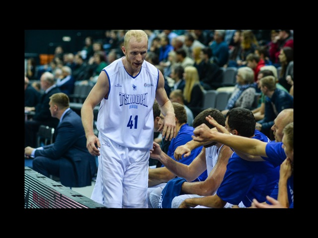 Djordje Gagic blocked shot and Sahsa Kudrautsau made fast 2pt shot in game Nahariya Tsmoki