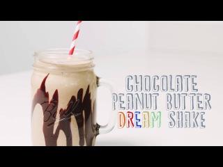 Chocolate Peanut Butter Dream Shake