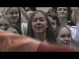 Танцевальный флеш-моб под гимн РДШ
