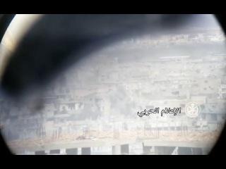 بالفيديو .. استهداف مقرات جبهة النصرة في درع&