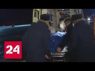 Раненного в Алеппо детского врача привезли в госпиталь имени Бурденко