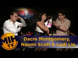 Dacre Montgomery, Naomi Scott &amp Ludi Lin Power Rangers Interview