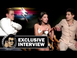 Dacre Montgomery, Naomi Scott &amp Ludi Lin POWER RANGERS Interview (JoBlo.com) 2017