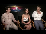 Power Rangers Interview - Dacre Montgomery, Naomi Scott, and Ludi Lin
