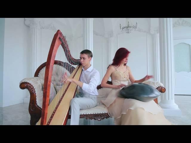 Татьяна Елецкая (Хэндпан), Алексей Зулин ( Арфа). Промо ролик 2015