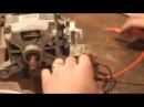 Подключение коллекторного электродвигателя от стиральной машинки автомат.
