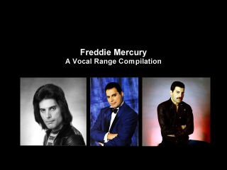 Freddie Mercury - A Vocal Range Compilation [F2-F6]