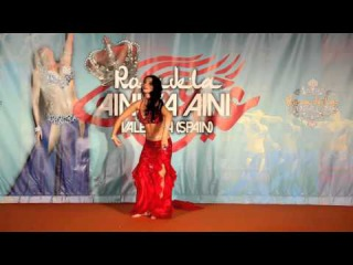 Nathalie Bellydance 2nd Place Master Aini Ya Aini 2016 - Amir and the Princess