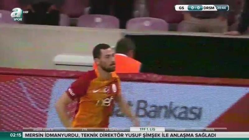 Galatasaray - Dersimspor ZTK 1.yarı
