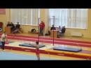 2016.10.25 • Первенство города Санкт-Петербурга по спортивной гимнастике • 1-ый день • Опорный прыжок • 9.0