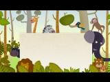 ФУТАЖ - #ФОН животные с рамкой
