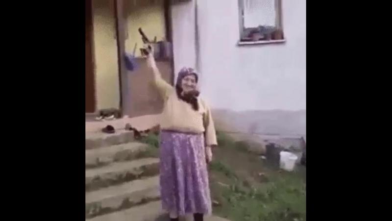 Бабка Марья и кураж