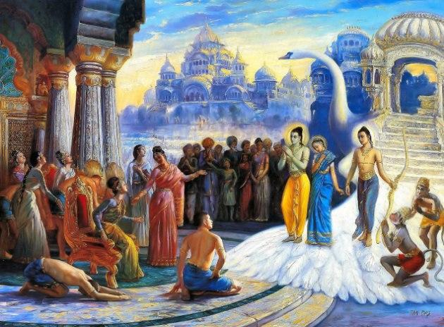 Рама се завръща в Айодхия