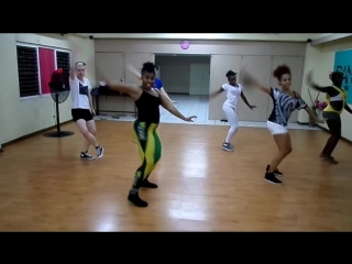 Jamaican Traditional Folk DANCEHALL STYLE; CRANK IT UP by Latonya; CHUH by Kimiko Versatile